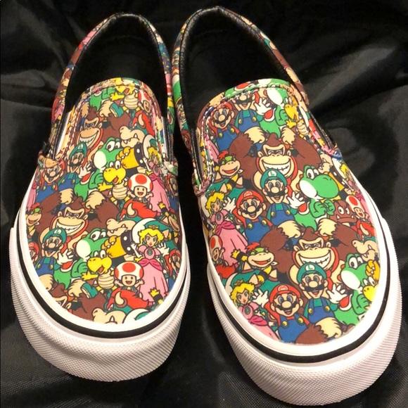 a2834ba926 VANS NINTENDO SUPER MARIO BROS NWOT WMNS 7. M 5c3b630cbaebf60386400ea7.  Other Shoes ...